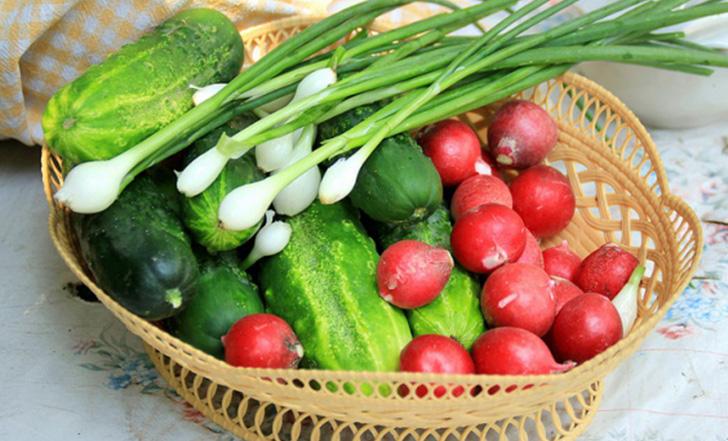 Нитраты в первых овощах весной