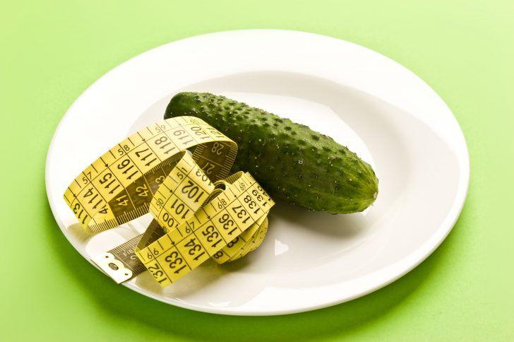 Огуречные диеты для похудения