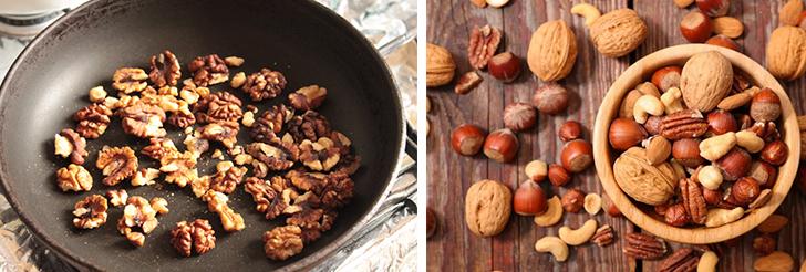 Жареный грецкий орех польза и вред