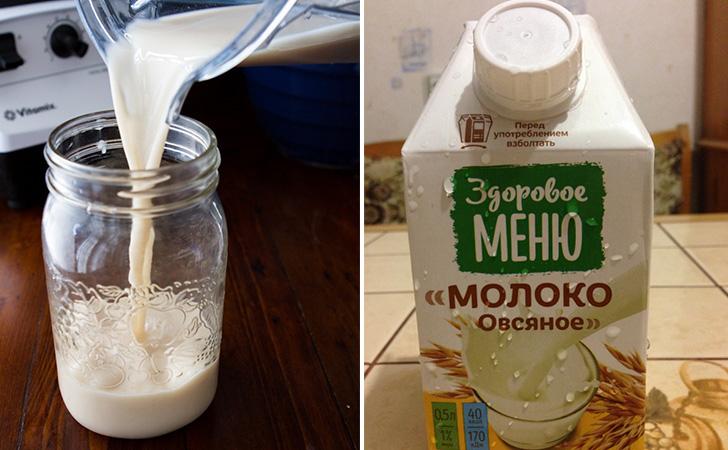 Молоко из овсянки