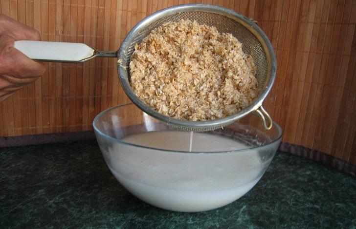 Приготовление овсяного молока