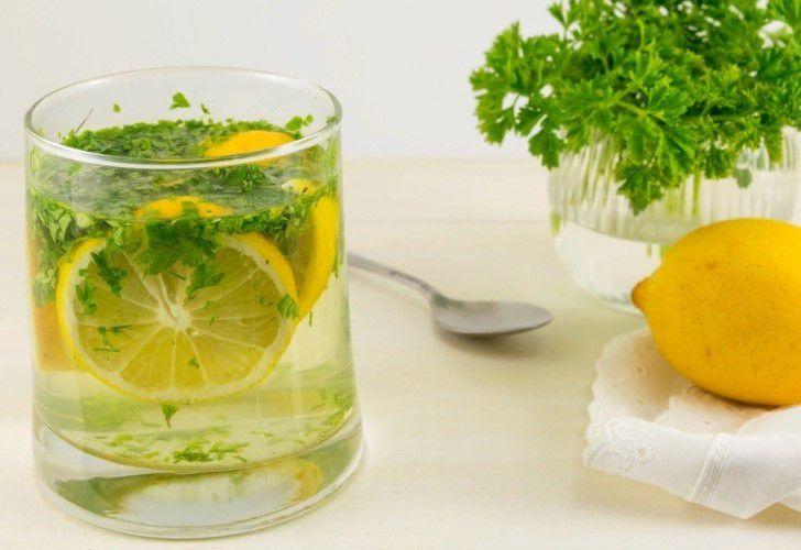 Лимон и петрушка для фигуры