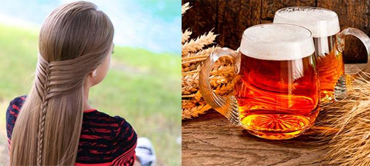 Пиво для волос: рецепт пивная маска в домашних условиях 💇 для роста и густоты волос