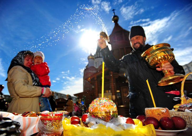 Празднование Пасхи у католиков и православных христиан