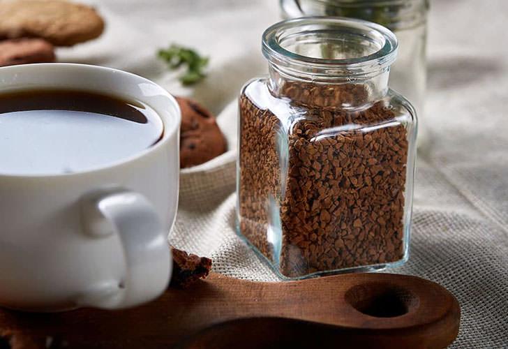 Позезные свойства растворимого кофе