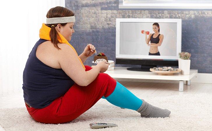 Ожирение от неполезных углеводов