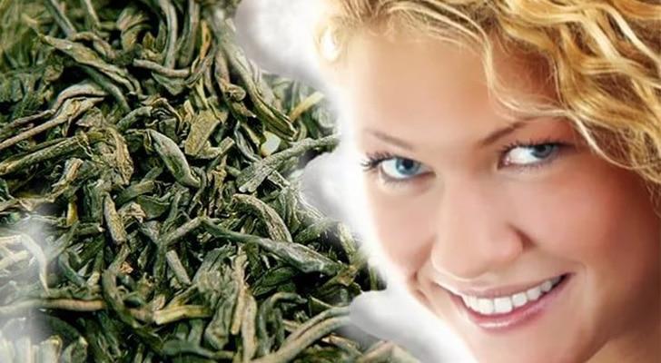 зеленый чай от выпадения волос