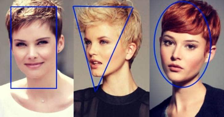 Правильная стрижка по форме лица