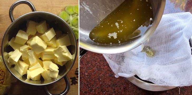 Масло гхи в духовке