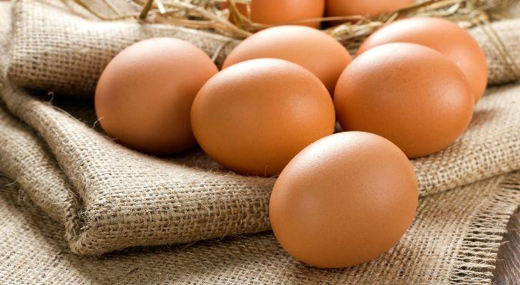 Куриные яйца при похудении