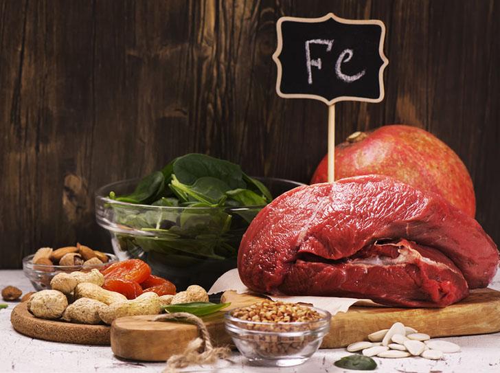 Где присутствует витамин железо