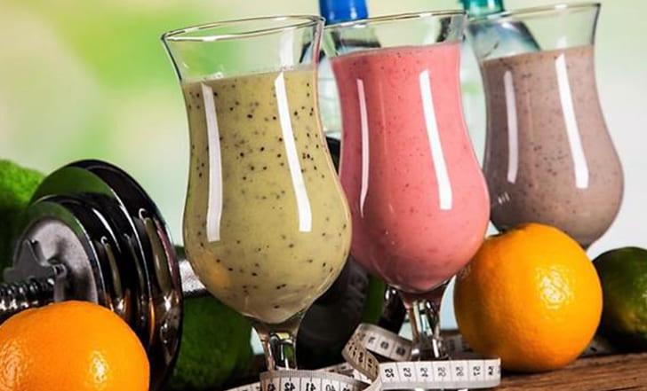 Протеиновые коктейли для спорта и похудения