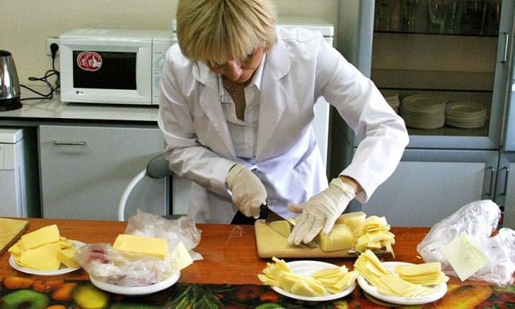Проверка качества сыра