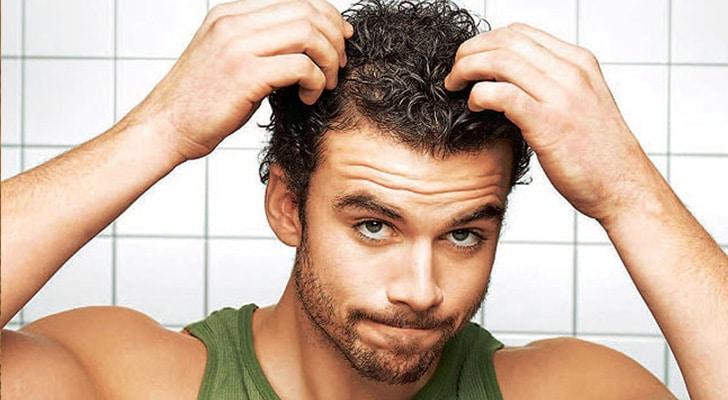 Сахар и выпадение волос у мужчин