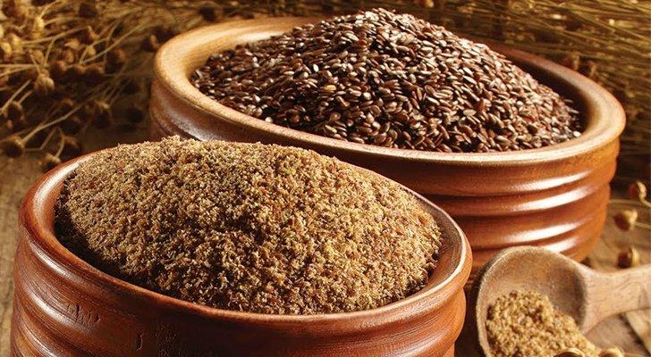 Диеты из льняной муки и семян