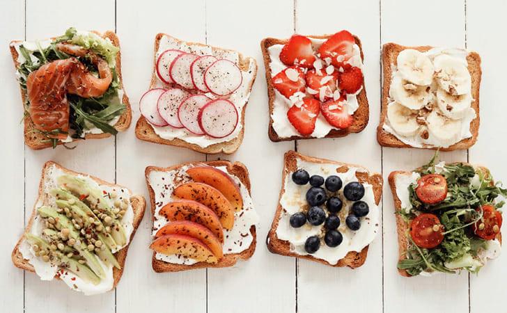 Калорийность бутербродов
