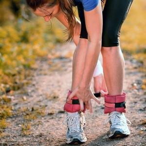 Ходьба с утяжелителями на ногах