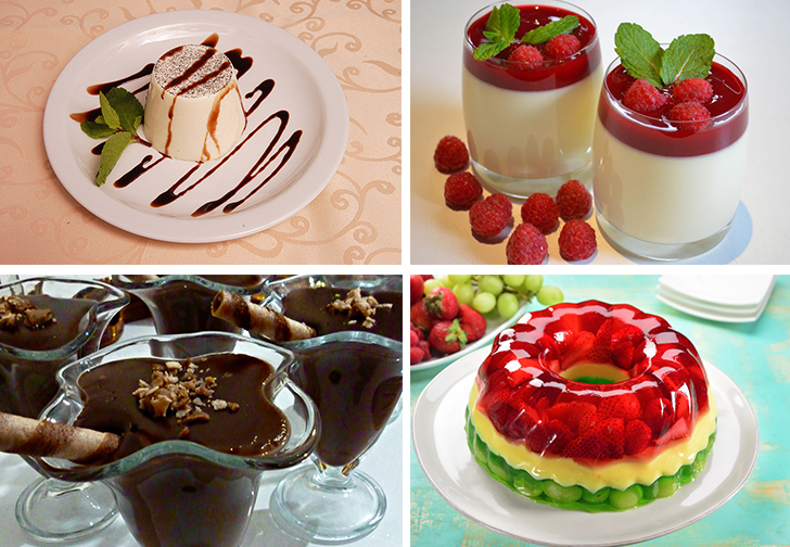 Сладкие диетические блюда