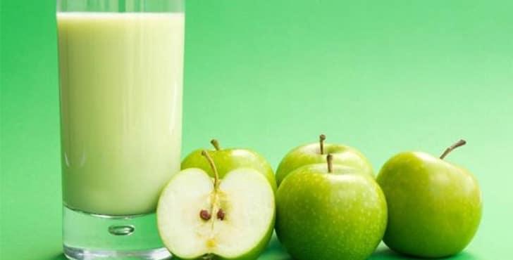 Смузи из яблок. Рецепт