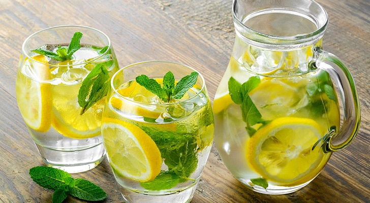 Мятно-лимонный напиток способ приготовления
