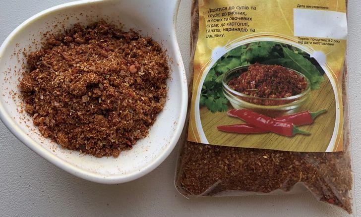 Использование смеси хлористого натрия и пряных трав