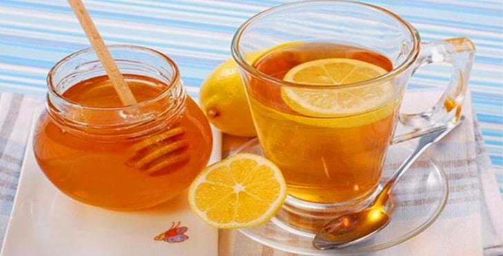 Состав напитка с лимоном