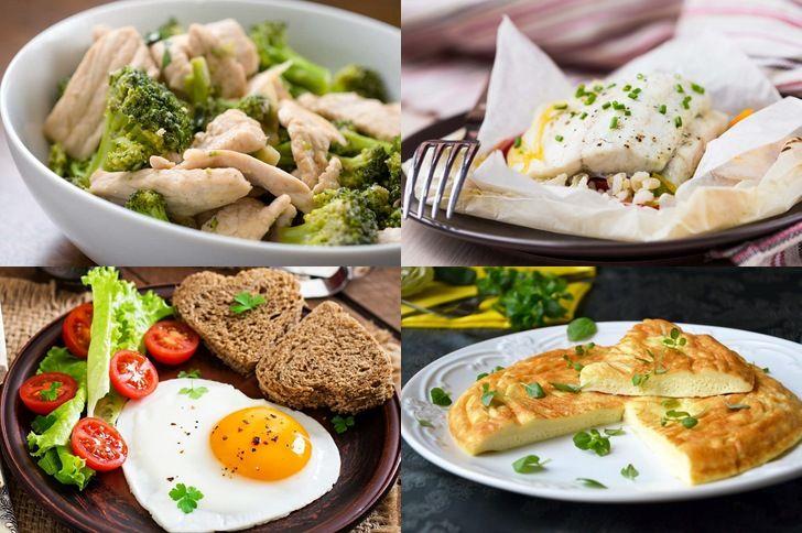 Варианты ПП-блюд
