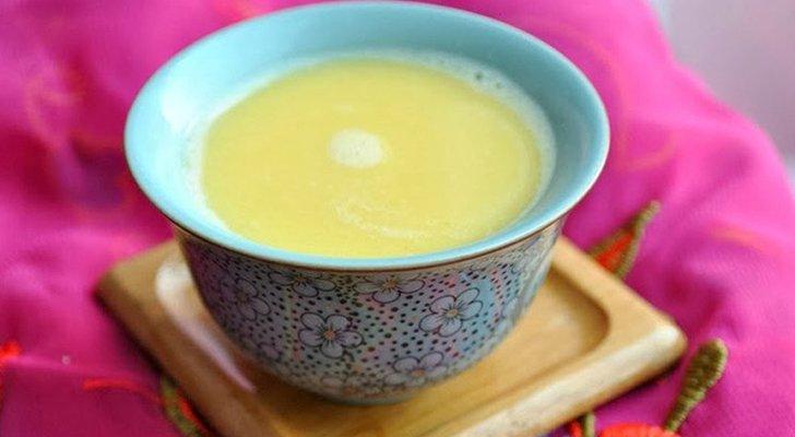 Монгольский чай с молоком
