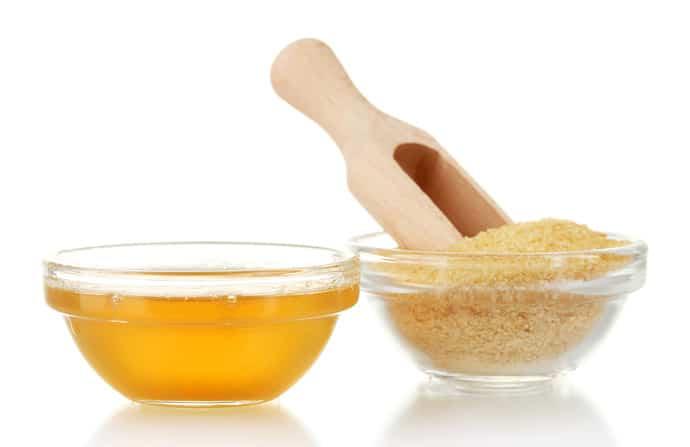 Желатин и мёд