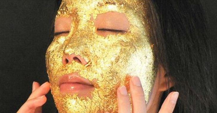 Золотая маска для лица применение